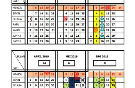 Download Kalender Pendidikan (Kaldik) Tahun Pelajaran 2018/2019