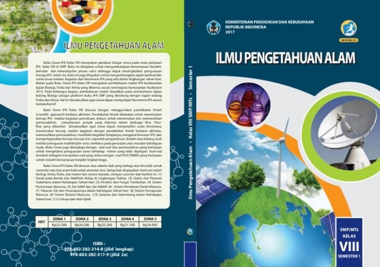 Buku Bahasa Indonesia Kelas 8 Semester 1 Revisi 2017