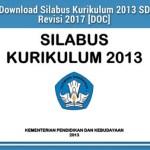 Download Silabus Kurikulum 2013 K13 SD MI Revisi Terbaru Lengkap