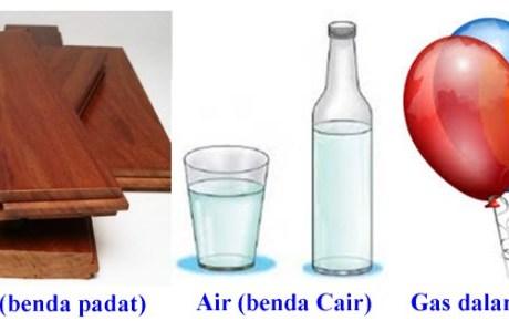 Susunan dan Gerak Partikel Berbagai Wujud Zat (Padat, Cair, dan Gas)