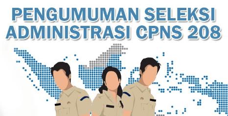 Pengumuman Hasil Seleksi Administrasi CPNS Kementerian Agama (Kemenag) Tahun 2018