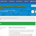 Jadwal dan Lokasi Tes Kompetensi Dasar CPNS Kabupaten Balangan Tahun 2018