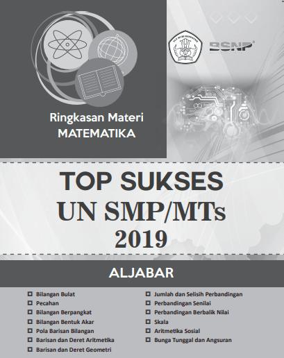 Ringkasan Materi dan Latihan Soal Ujian Nasional UN SMP MTs 2019