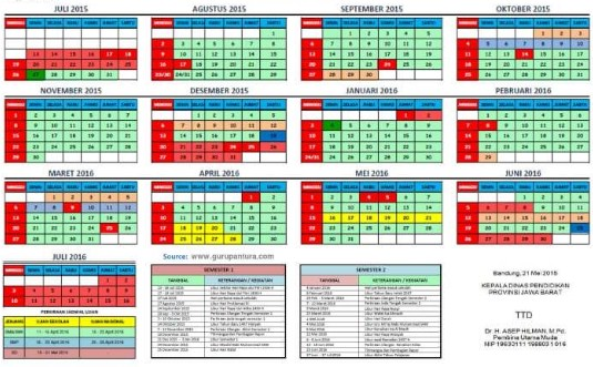 Provinsi Jawa Timur Kalender Pendidikan 2020 Pdf - Unduh ...