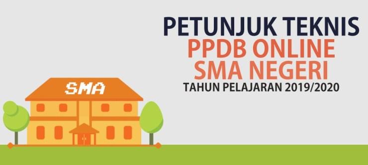 Juknis PPDB Online SMA Provinsi Jawa Tengah Tahun Pelajaran 2019/2020
