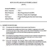 Download Silabus dan RPP IPS Kelas 7 SMP MTs Kurikulum 2013
