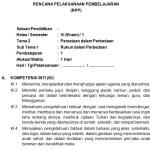 Download RPP SD Kurikulum 2013 K13 Edisi Revisi 2018 Lengkap