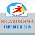 Silabus SMA Kurikulum 2013 K13 Edisi Revisi 2018 Semua Mapel