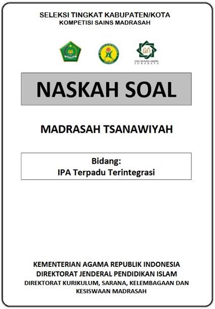 Download Latihan Soal Ksm Mts Tingkat Kabupaten Tahun 2020