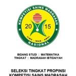 Download Latihan Soal KSM MI Tingkat Provinsi Tahun 2020
