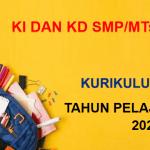 KI dan KD Prakarya Kelas 7 8 9 SMP MTs K13 Tahun Pelajaran 2021/2022