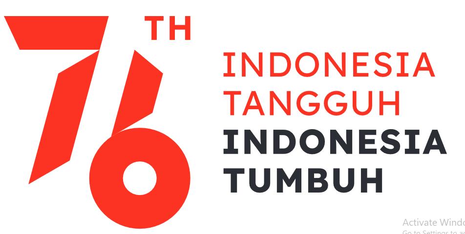 logo tema kemerdekaan republik indonesia