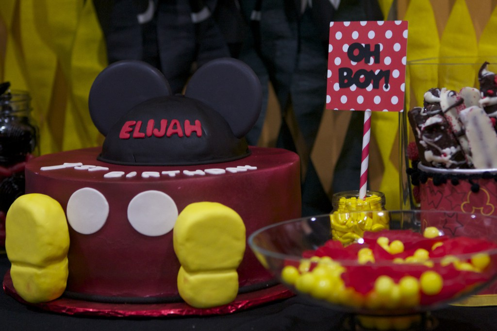 mickey mouse first birthday party // a monkey and his mama