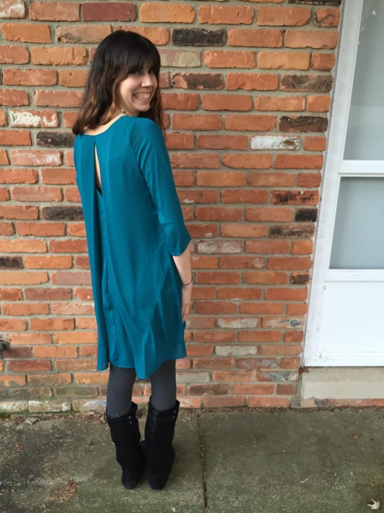 Yola Dress, Everly from my December Stitch Fix // www.amonkeyandhismama.com
