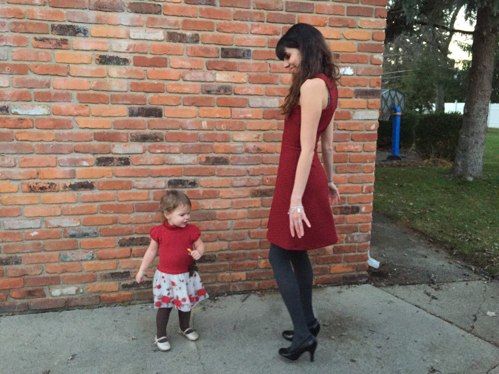 Idell Dress, Collective Concepts December 2015 Stitch Fix and Mayoral dress from Sprouting Threads // www.amonkeyandhismama.com