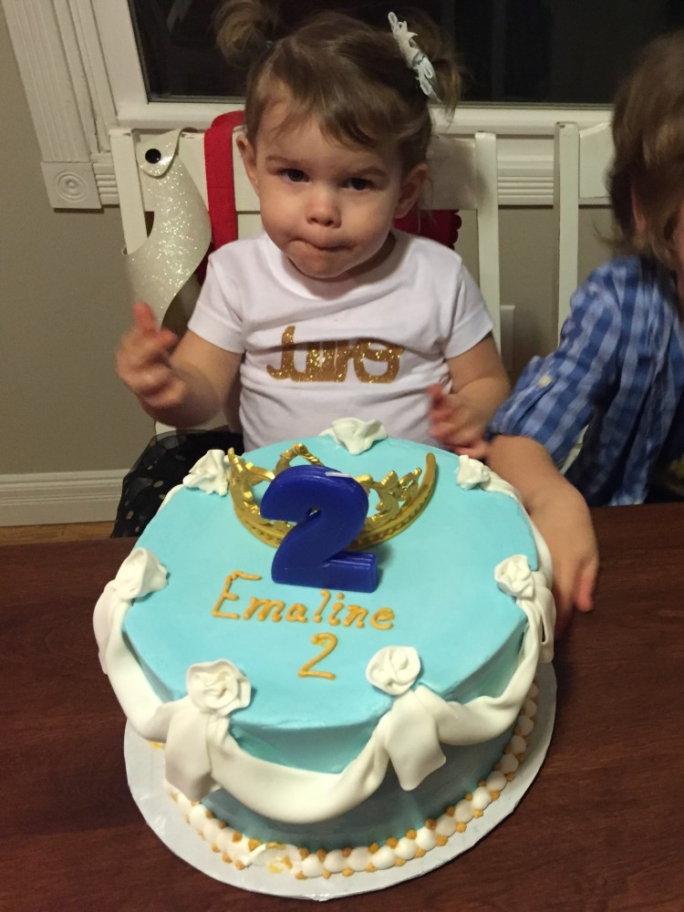 emaline's cinderella birthday cake // a monkey and his mama