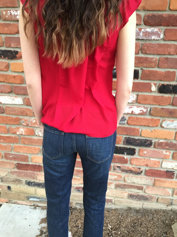 Kate Boyfriend Jeans, Kut from the Kloth. February Stitch Fix // a monkey and his mama