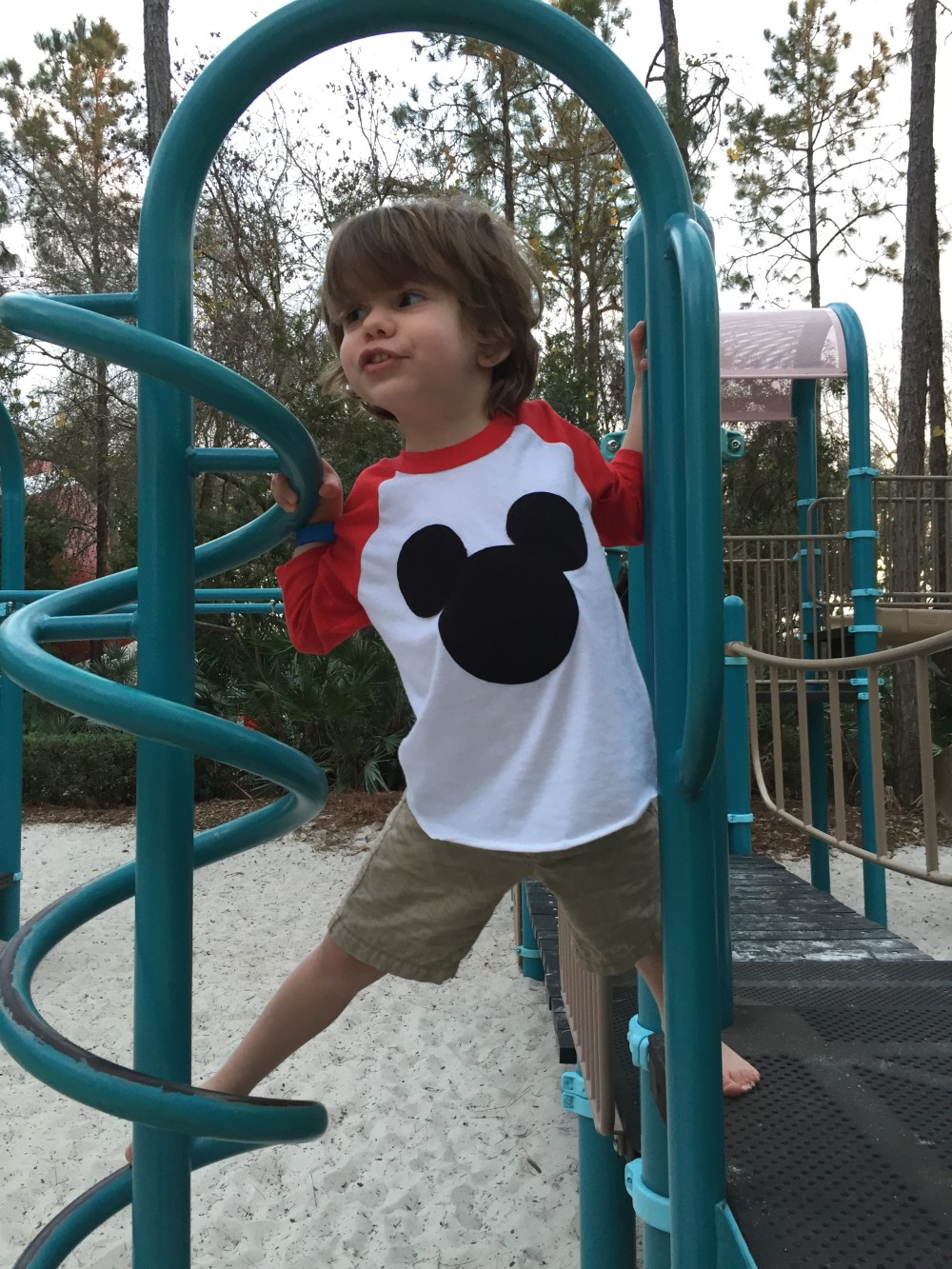 toddler style in disney world, with swanky shank // a monkey and his mama