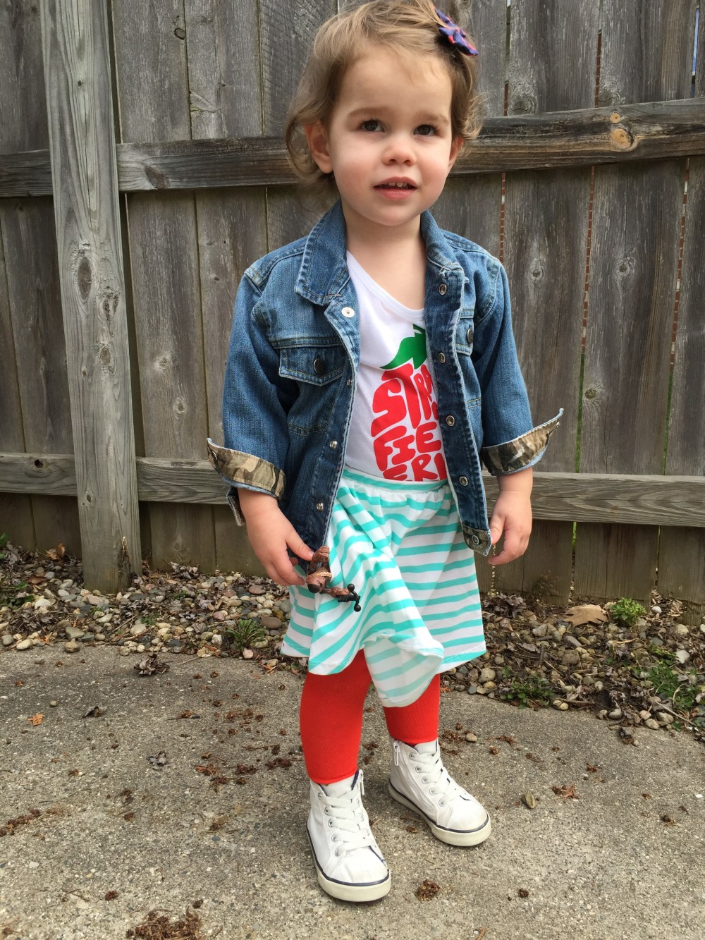 toddler girl summer style // what emmy wore // a monkey and his mama