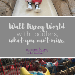 Disney with Toddlers, What Not to Miss.
