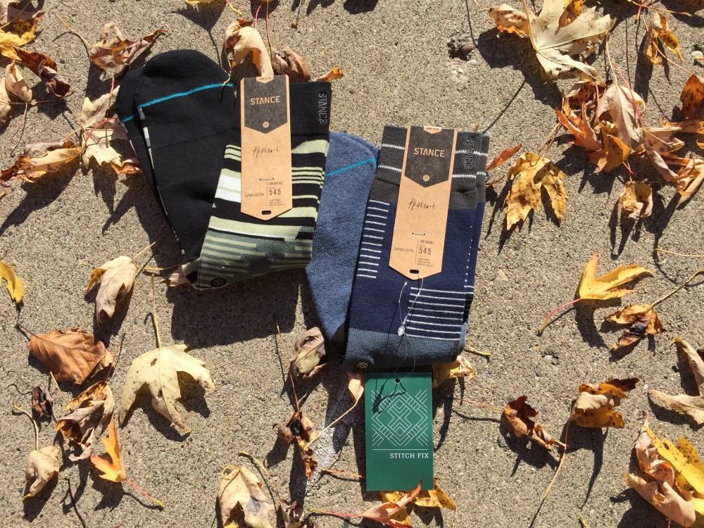 stitch fix men // stance ridgecrest needle socks
