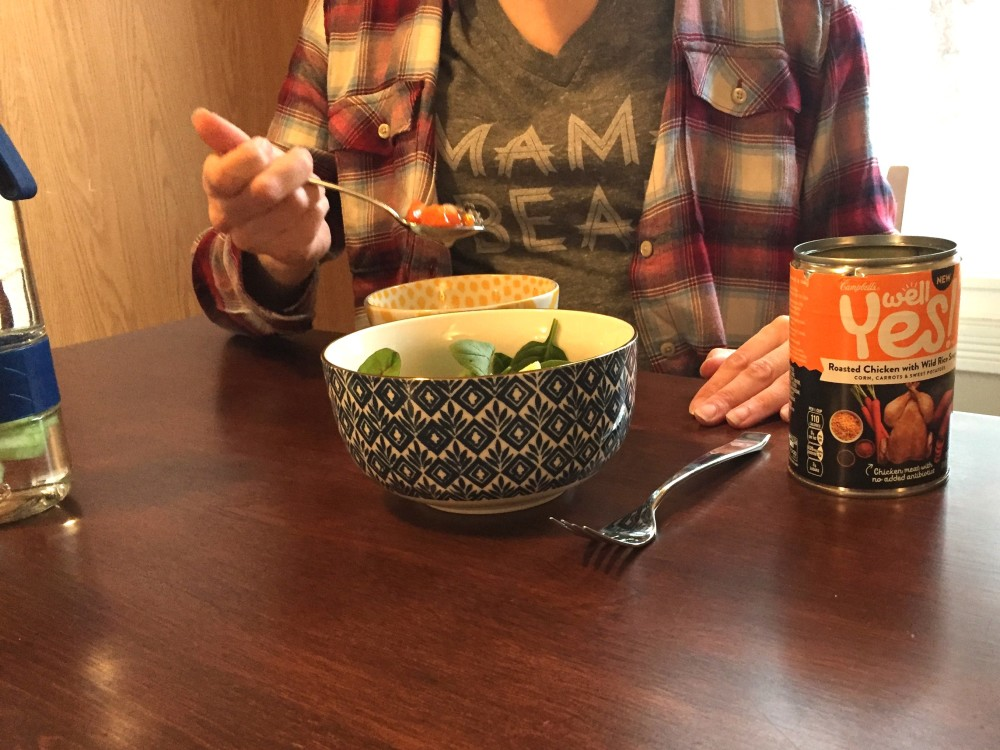 tips for self care with campbell's well yes! soups // a monkey and his mama