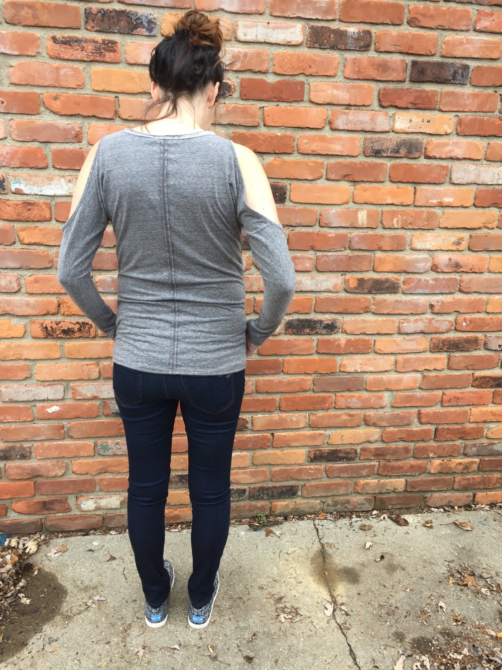 laila jayde maternity knit top // third trimester stitch fix // a monkey and his mama