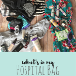 What's in my Hospital Bag.