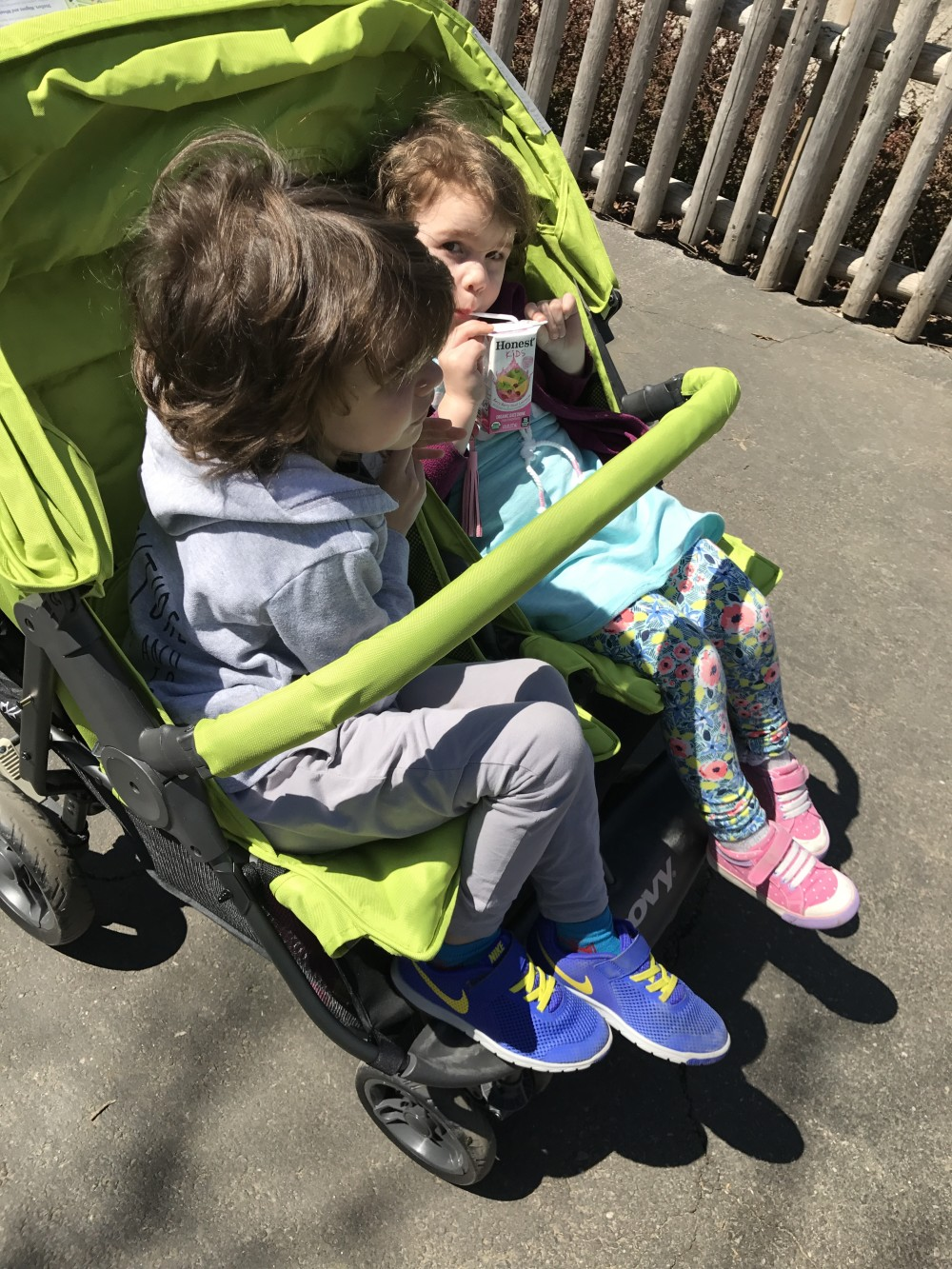 joovy double stroller scooter x2 review
