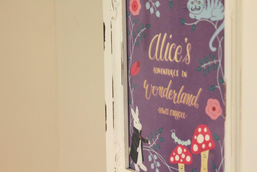 alice in wonderland nursery decor