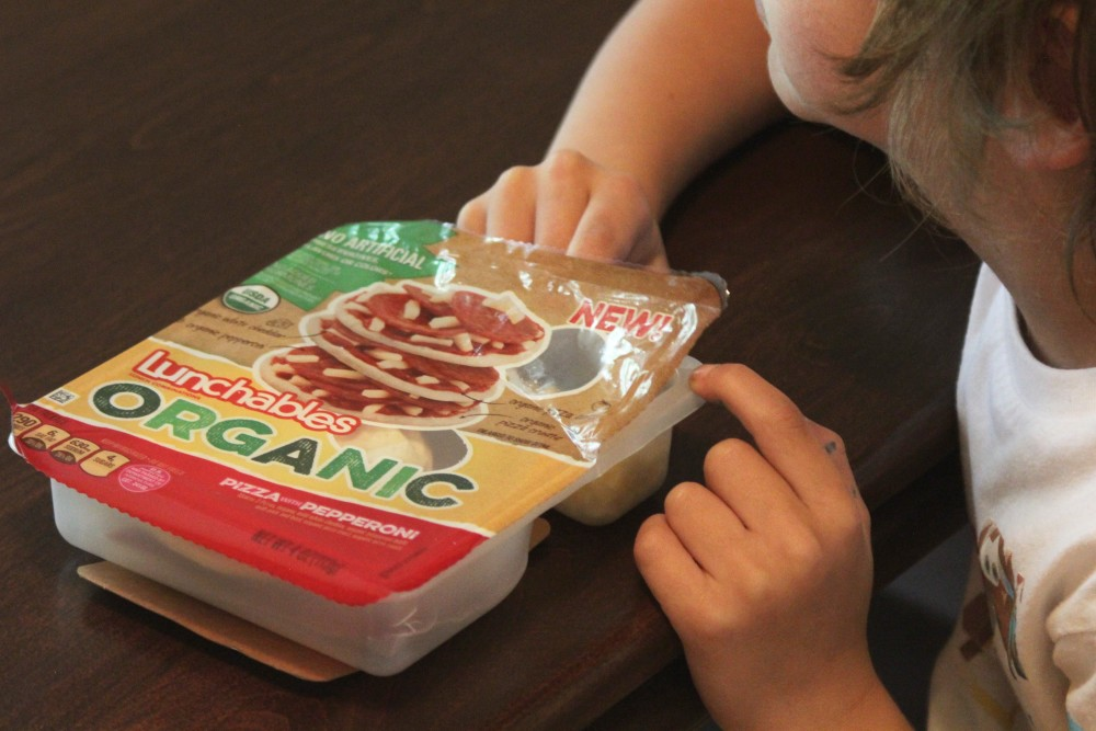 lunchables organic pizza