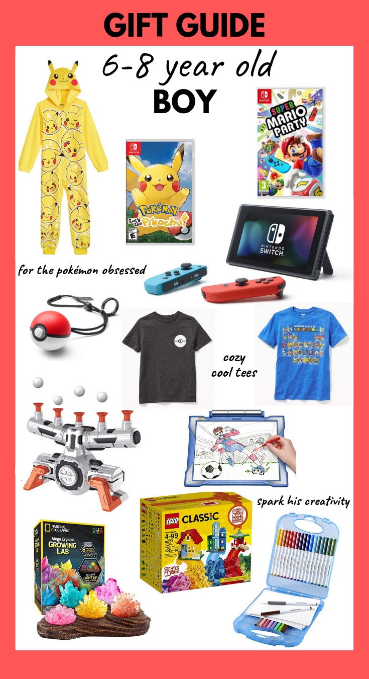 Gift Guide for 6-8 Year Old Boys. - a monkey and his mama