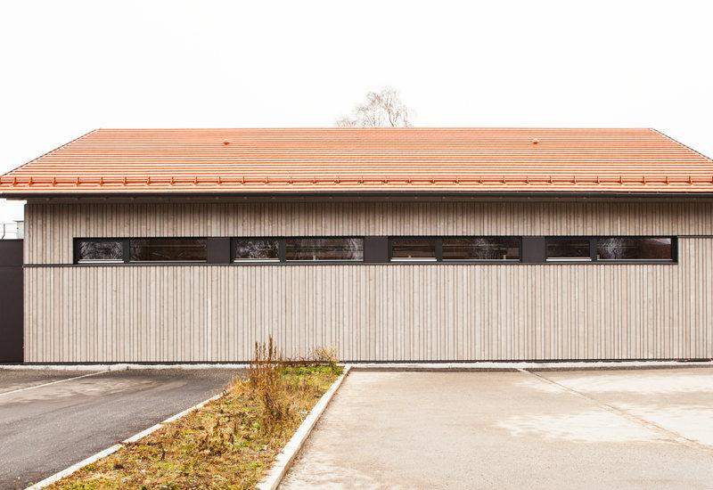 Fire station of Hohenbrunn