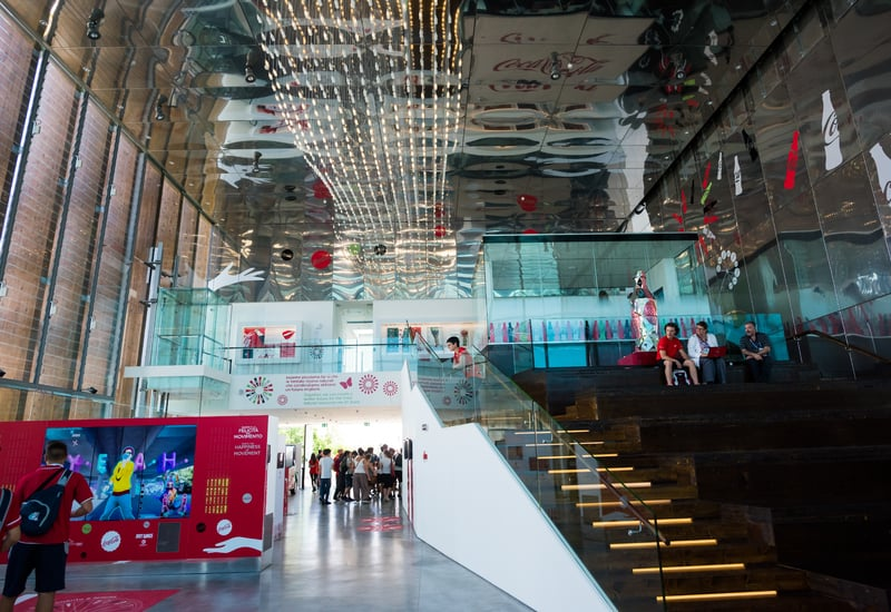 Pavilion of Coca Cola