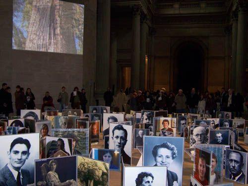 Image de la cérémonie du Panthéon, le 18 Janvier 2007