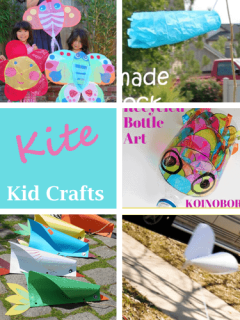 kite kid crafts - crafts for kids - amorecraftylife.com #kidscraft #craftsforkids #preschool