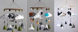 woodland nursery idea - nursery theme - animal nursery - amorecraftylife.com #baby #nursery #babygift #woodland