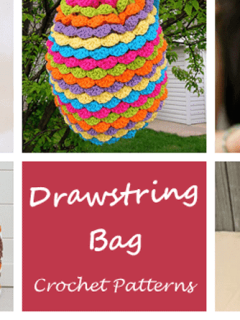bag crochet patterns - crochet pattern pdf - amorecraftylife.com