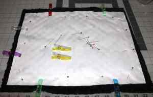 bear minky baby blanket - baby blanket gift set tutorial- minky tips- woodland nursery - amorecraftylife.com #tutorial #baby #nursery #babygift #sewing #tips