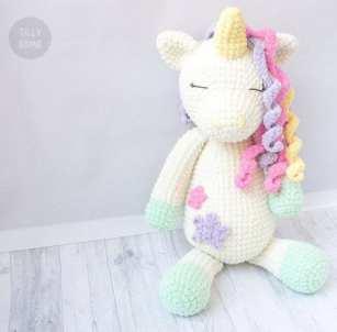 unicorn crochet patterns - crochet pattern pdf - amorecraftylife.com #unicorn #baby #crochet #crochetpattern