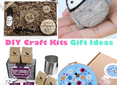Diy Craft Kits Creative Gift Ideas A More Crafty Life