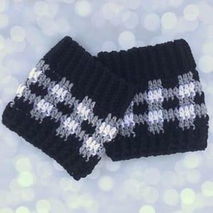 plaid crochet patterns - crochet pattern pdf - boot cuff crochet pattern - amorecraftylife.com #plaid #crochet #crochetpattern