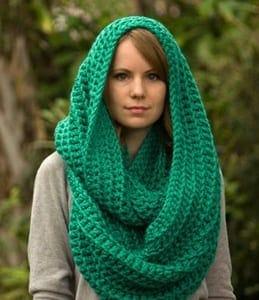 39caa59cf27 hooded scarf crochet patterns - hat scarf crochet patterns - cowl crochet  pattern - crochet pattern