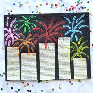 new years eve kid crafts - arts and crafts activities - amorecraftylife.com #kidscraft #craftsforkids #newyear #preschool