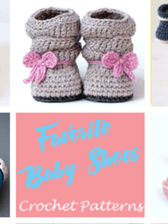 baby shoes crochet pattern- - amorecraftylife.com #crochet #crochetpattern #diy #baby #babycrochet