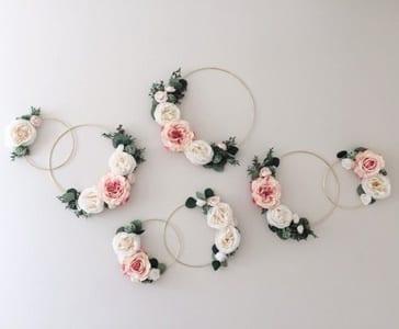 loral nursery ideas- girl nursery theme - flowers nursery - amorecraftylife.com #baby #nursery #babygift #babygirl