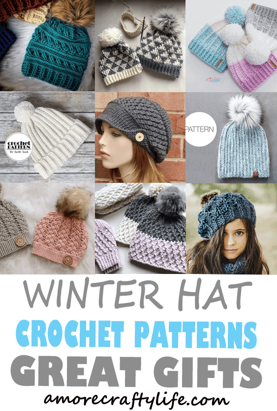 Winter Hat Crochet Patterns
