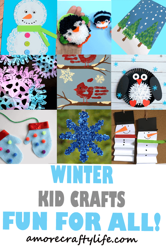 Winter Craft Archives A More Crafty Life