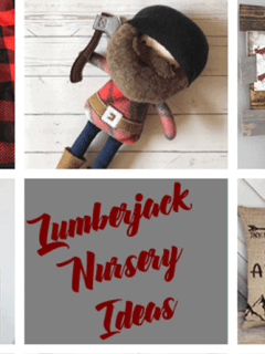 lumberjack nursery - woodland nursery idea - nursery theme - buffalo plaid nursery - amorecraftylife.com #baby #nursery #babygift #woodland