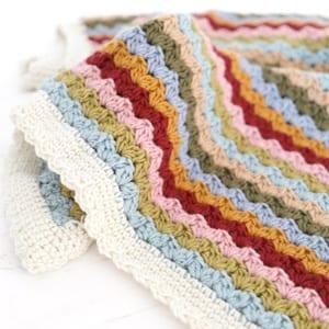 blanket crochet patterns- afghan crochet pattern pdf - amorecraftylife.com #crochet #crochetpattern